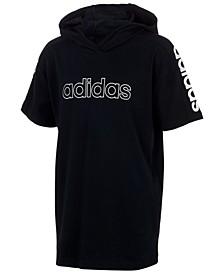 Big Boys Cotton Hooded T-Shirt