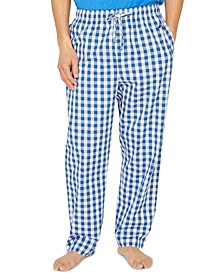 Men's Cotton Buffalo Plaid Pajama Pant