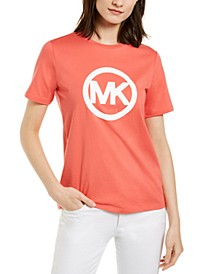 Cotton Logo T-Shirt, Available in Regular & Petites