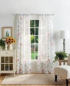 "Martha Stewart Martha's Garden 37"" x 95"" Sheer Curtain Set"