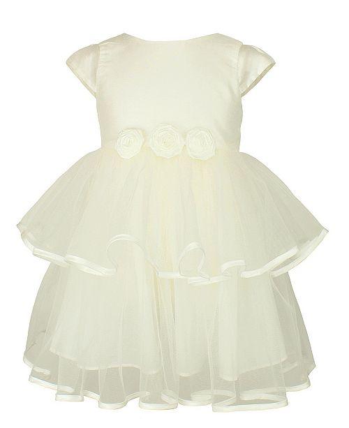 Popatu Baby Girl Flowers Tulle Dress