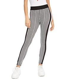 Printed Pull-On Skinny Pants