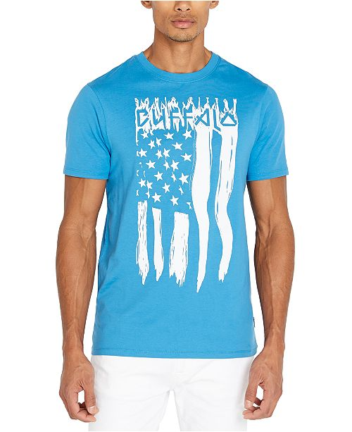 Buffalo David Bitton Men's Flag Graphic T-Shirt