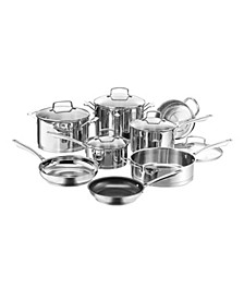 Professional Series Stainless 13-Pc. Cookware Set