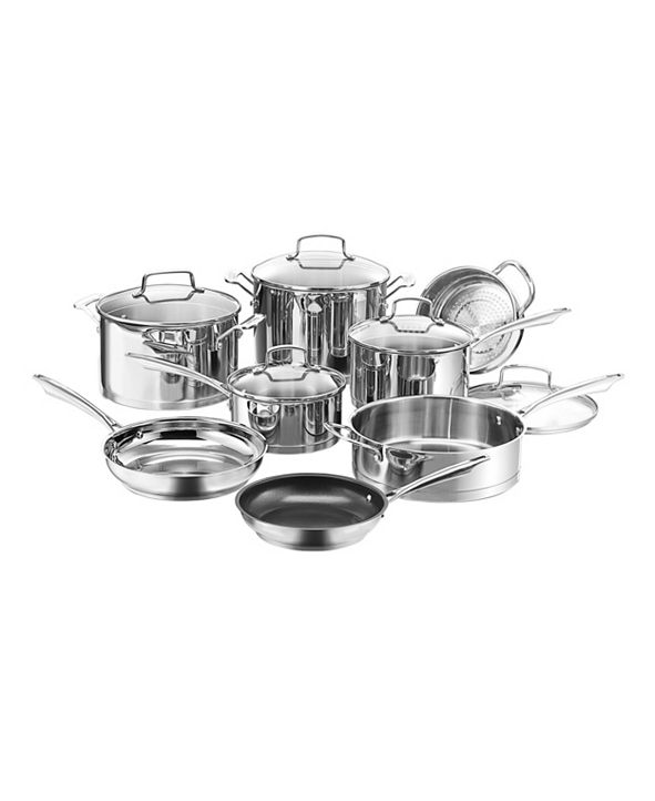 Cuisinart Professional Series Stainless 13-Pc. Cookware