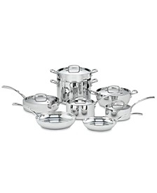 French Classic Stainless 13-Pc. Cookware Set