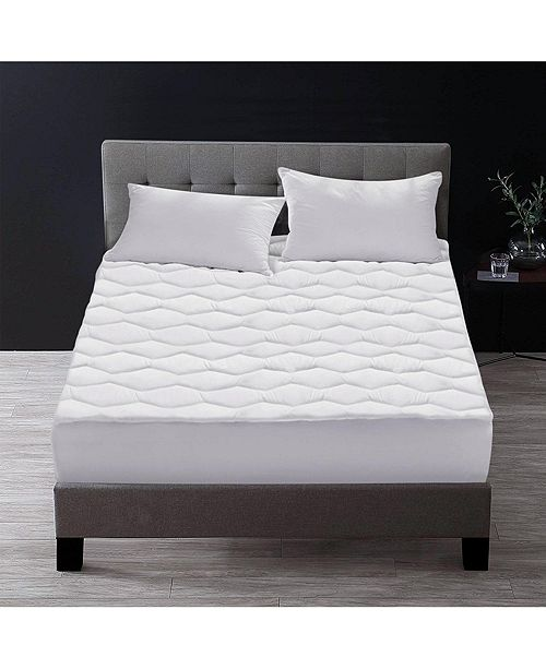UNIKOME Quilted Down Alternative Mattress Pad, King
