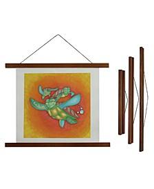 "Magnetic Wooden Poster Hanger Frame - 18"" x 1"""