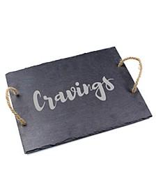 """""""Cravings"""" Slate Serving Board"""