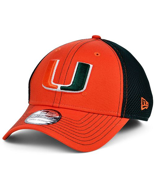 New Era Miami Hurricanes 2 Tone Neo Cap