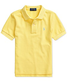Toddler Boys Mesh Cotton Polo