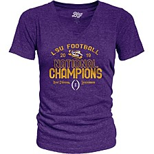 Women's LSU Tigers National Champs T-Shirt