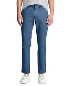 Men's Slim Fit Stretch Cotton Chino Pants