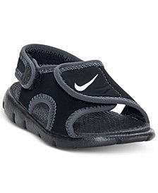 Nike Big Boys'   Sunday Adjust 4 Stay-Put Closure Sandals from Finish Line