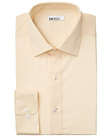 Men's Organic Cotton Slim-Fit Link-Print Dress Shirt, GOTS Certified, Created for Macy's