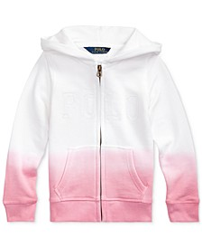 Toddler Girls Dip-Dyed French Terry Hoodie