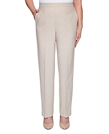 Nantucket Pull-On Straight-Leg Pants