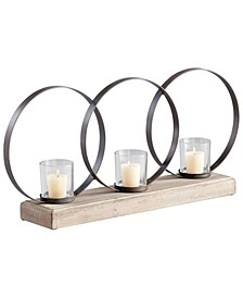 Ohhh 3-Candle Candleholder