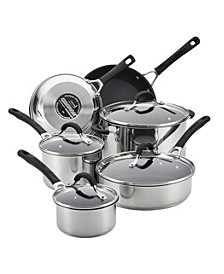 Innovatum Stainless Steel Nonstick 10-Pc. Cookware Set