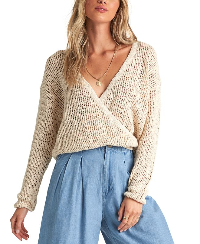 Billabong Juniors' Sweet Bliss Wrap Sweater