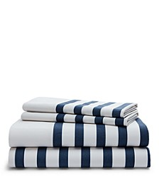 Evan Stripe King Sheet Set