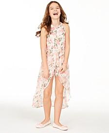 Big Girls Floral-Print Walkthrough Romper, Created for Macy's