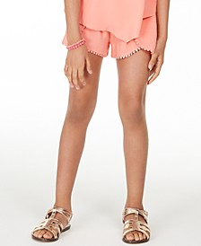 Big Girls Challis Shorts, Created for Macy's