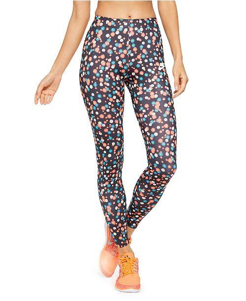 Nike Women's Sportswear Heritage Floral-Print Leggings