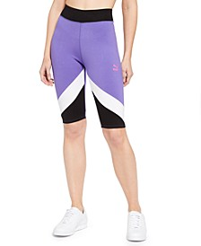 Colorblocked Bike Shorts