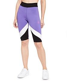 Colorblocked Bike Shorts