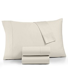 CLOSEOUT! Linden 900-Thread Count Percale 4-Pc. Queen Sheet Set