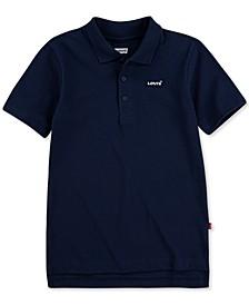 Big Boys Regular-Fit Piqué Polo Shirt