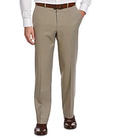 Classic-Fit No Iron Nailhead  Men's Dress Pants