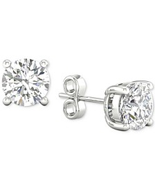 Diamond Stud Earrings (1 ct. t.w.) in 14k White Gold