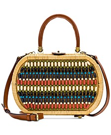 Cipressa Wicker Satchel
