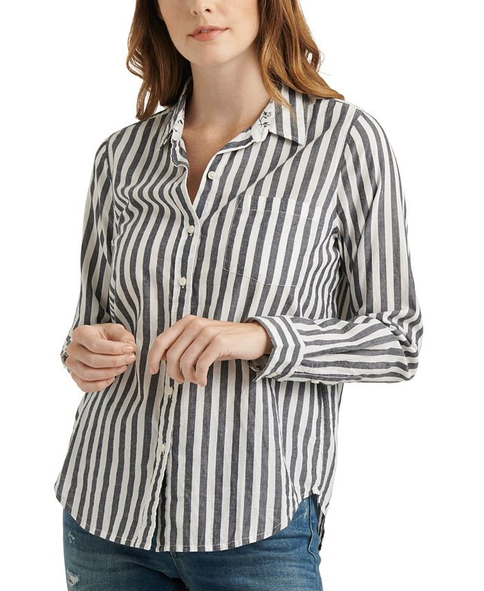 Lucky Brand - Cotton Classic One-Pocket Shirt