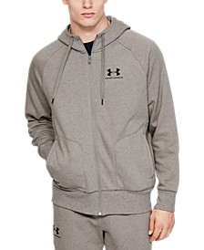 Men's Speckled Fleece Full Zip Hoodie