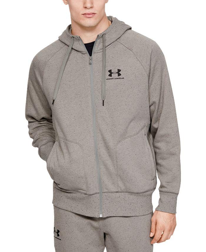 Under Armour - Men's UA Speckled Fleece Full Zip Hoodie