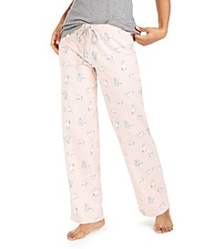 Printed Cotton Pajama Pants, Created for Macy's