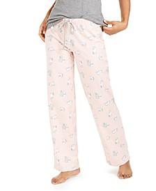 Printed Cotton Pajama Pants, Created For Macy's