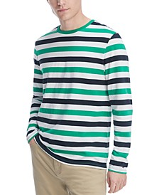 Men's Leith Striped Long Sleeve T-Shirt