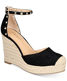 Masin Espadrille Wedge Pumps, Created for Macy's