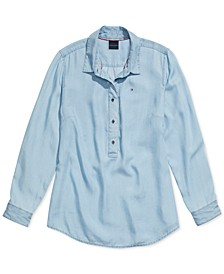 Women's Cersei Jean Shirt with Magnetic Closures