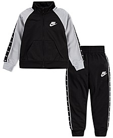 Little Boys Swoosh Taping Tracksuit