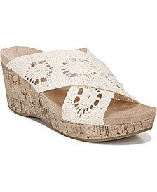 LifeStride Donna Slide Wedge Sandals