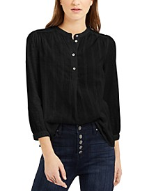 Woven Button-Down Shirt