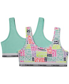 Big Girls Bralette, 2 Pack