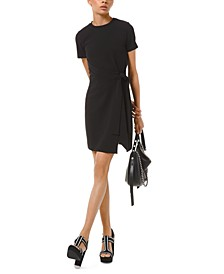 T-Shirt Wrap Dress, Regular & Petite