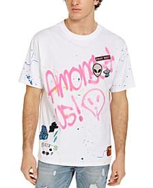 Men's Alien Patch Graphic T-Shirt