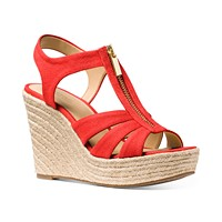 Deals on MICHAEL Michael Kors Berkley Espadrille Wedge Sandals